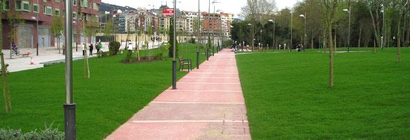 Parque Bilbao, Spanje